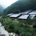 蔵王に抱かれた秘湯・峩々温泉は登山や自然体験のベースキャンプです