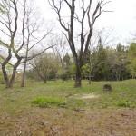 支倉地区にある上楯城址は、支倉常長が育った支倉氏の居城
