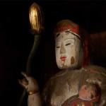 円福寺に伝わる「マリア観音」が、土地のキリシタン信仰を物語ります