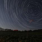 写真コンテスト入賞作品 作品名「川崎町の星空」