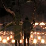 写真コンテスト入賞作品 作品名「雪あかり」