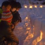 家族の絆を深めてくれる「青根温泉・雪あかり」