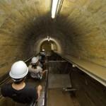 「わくドキ釜房ダム」は、釜房ダムの内部が見られる珍しい見学会だ